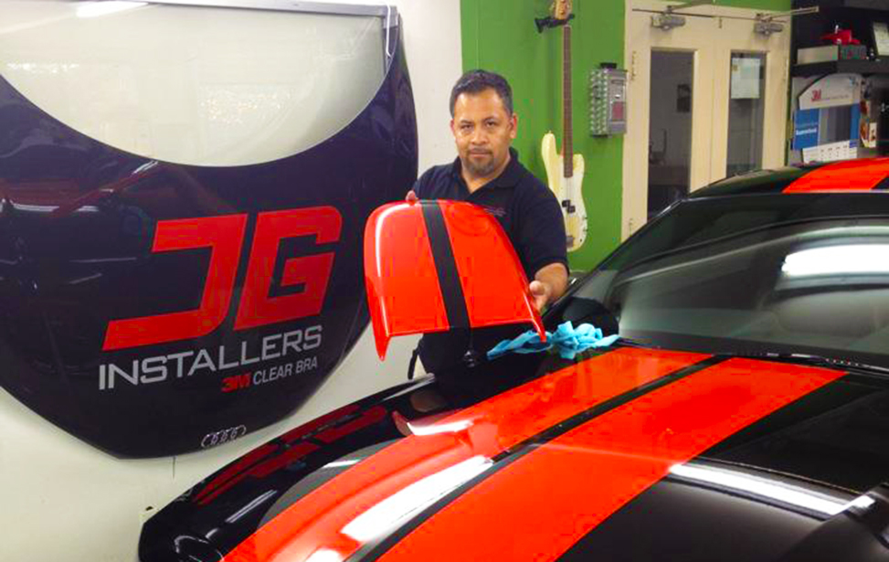 JG Vynil Wrapping & Car Paint Protections Film Installation